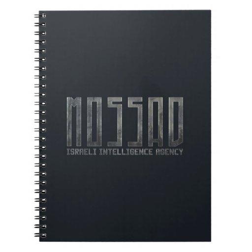 Mossad - Israeli Intelligence Agency Note Book