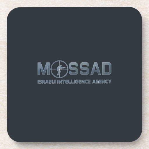Mossad - Israeli Intelligence Agency - Scope Drink Coaster