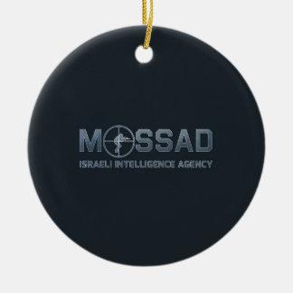Mossad - Israeli Intelligence Agency - Scope Christmas Ornament