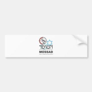 Mossad, the Israeli Intelligence Car Bumper Sticker