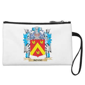 Mosse Coat of Arms - Family Crest Wristlet Clutches