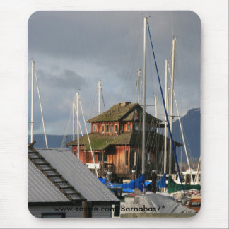 Mossy Habour Mouse Pad