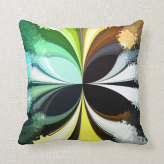 Mossy Moth Throw Pillow Cushion