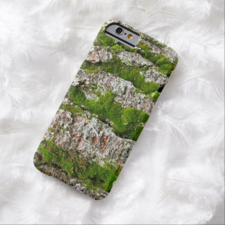 Mossy Pine Tree Bark Barely There iPhone 6 Case