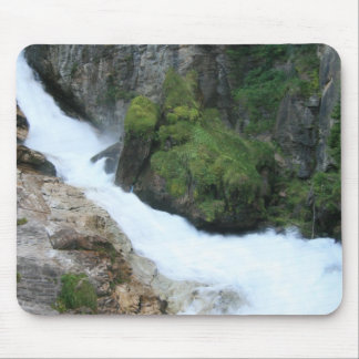 Mossy Waterfall Mouse Pad