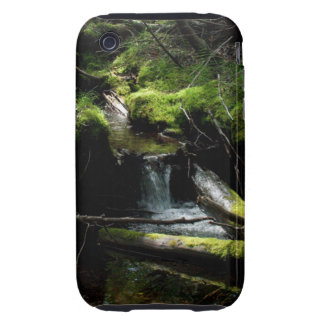 Mossy Waterfall Tough iPhone 3 Cases