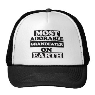 Most adorable grandfather mesh hat
