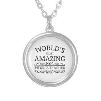 Most amazing physics teacher custom jewelry