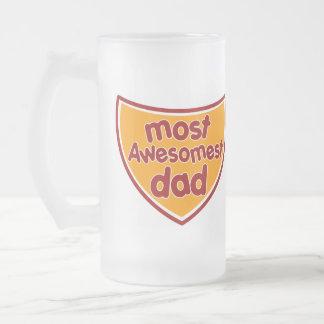 Most Awesomest Dad Beer Mug