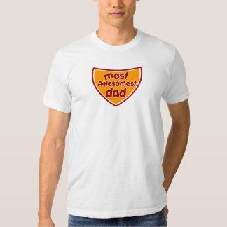 Most Awesomest Dad Tshirts