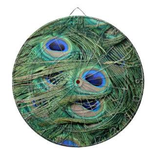 Most Beautiful Peacock Feathers Bold Blue Eyes Dartboard