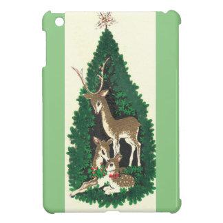 Most Beautiful Vintage Christmas Reindeer Family iPad Mini Cases
