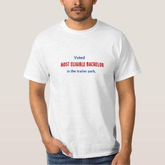 Most Eligible Trailer Park Bachelor T-Shirt