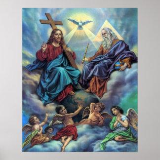 Most Holy Trinity Custom Poster