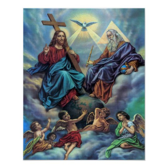 Most Holy Trinity Custom Poster