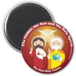 Most Holy Trinity Magnets