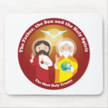 Most Holy Trinity Mousepad
