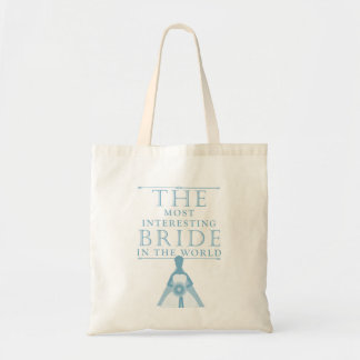 Most Interesting Bride Bachelorette Bag