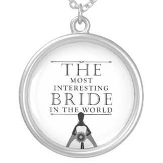 Most Interesting Bride Bachelorette Necklace
