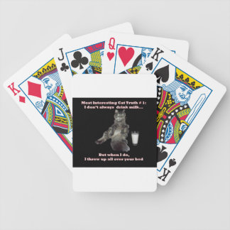 Most Interesting Cat #1.jpg Bicycle Playing Cards