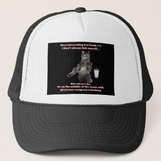 Most Interesting Cat #3.jpg Trucker Hat