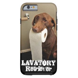 Most noble of rescue animals...LAVATORY Retriever! Tough iPhone 6 Case
