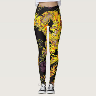 Most Popular Chinese Dragon Neo Art Leggings