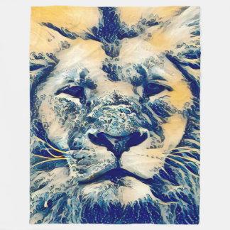 Most Popular Colorful Water Lion Spirit Fantasy Fleece Blanket