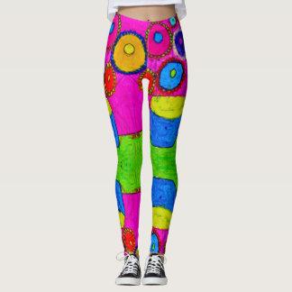 Most Popular Colorful Watercolor Leggings
