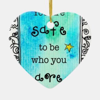 most popular cool quote to inspirational smile christmas ornament