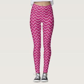Most Popular Hot Pink Mermaid Pattern Leggings