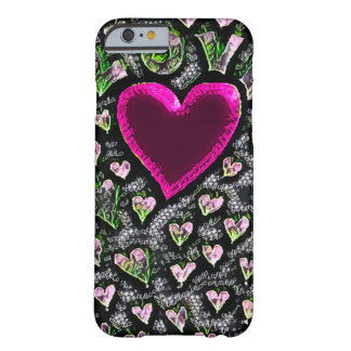 Most Popular Love Chalkboard Art Barely There iPhone 6 Case