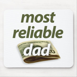 Most Reliable Dad Mouse Pad