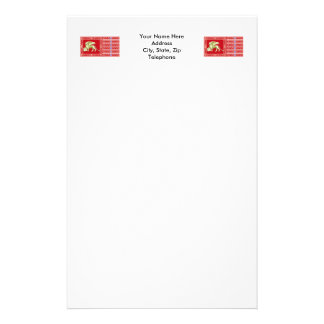 Most Serene Republic of Venice Flag Stationery Paper