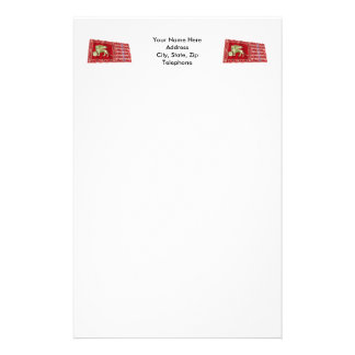 Most Serene Republic of Venice Waving Flag Personalized Stationery