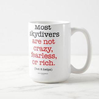 Most Skydivers Mugs