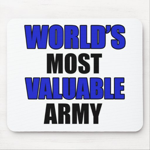 most valuable Army Mousepad