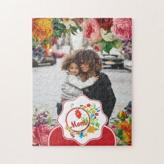 Most Wonderful Simply Incredible Fantastic Mom Jigsaw Puzzle