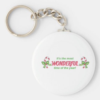 MOST WONDERFUL TIME KEY CHAINS