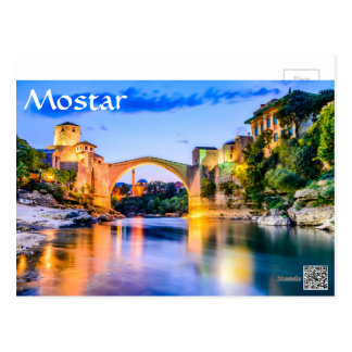 Mostar, Bosnia and Herzegovina Postcard