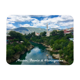Mostar Bosnia & Herzegovina Magnet with writing