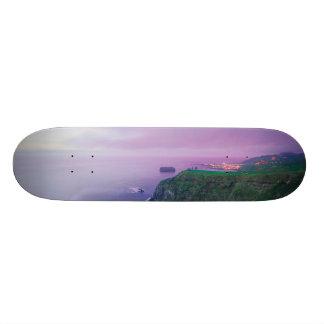 Mosteiros coastal sunset skate boards