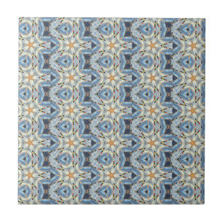 mostly blue moroccan tile