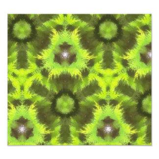 Mostly Green modern pattern Photograph