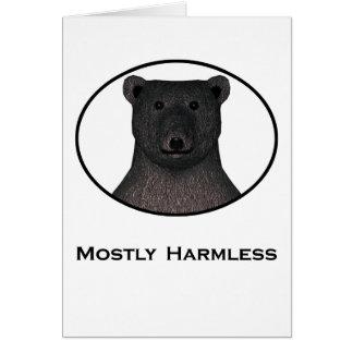 Mostly Harmless Card