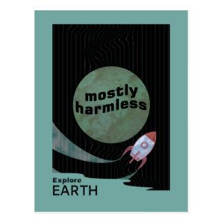 Mostly Harmless Postcard