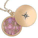 Mostly pink abstract pattern custom jewelry