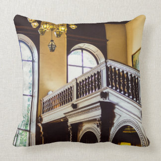 Moszna Castle Wooden Interior Architecture Cushion