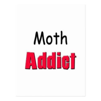 Moth Addict Postcard