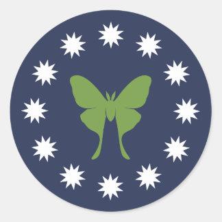 Moth & Bugs Stickers (Sheet)